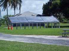 Everglades National Park, Florida - Four collector systems with twelve 20-01 collectors and four 80 gallon tanks each.